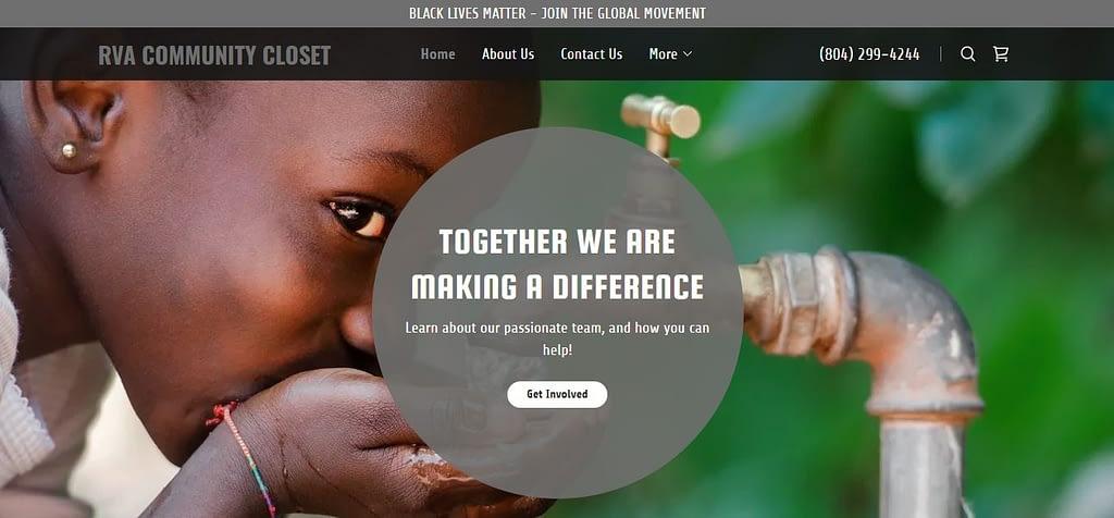 RVA Closet Home Page
